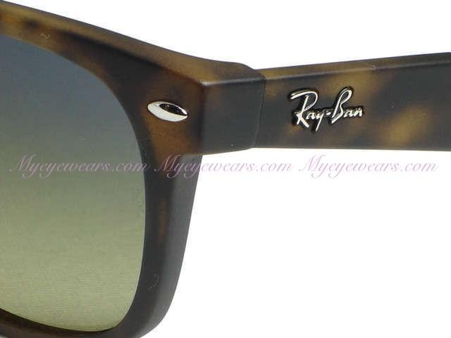 7a3cdbd0f1 Ray Ban-Ray Ban RB2132 New Wayfarer 894 76 Matte Havana Polarized ...