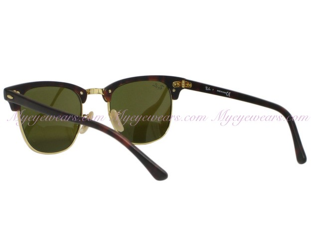 944d2ef764 Ray Ban-Ray Ban RB3016 Clubmaster 1145 17 Sand Havana Blue Mirror ...