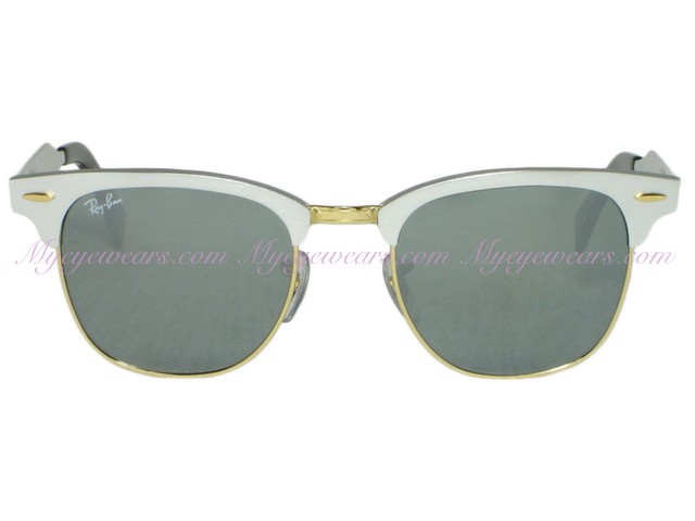 684a214a86c Ray Ban-Ray Ban RB3507 Clubmaster Aluminum 137 40 Silver- - Online ...