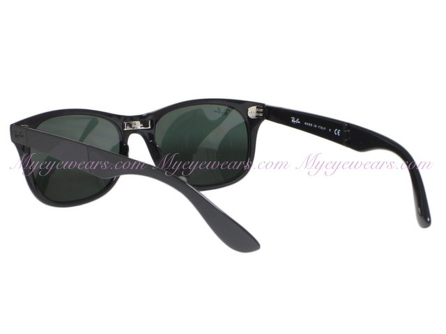 0419f920197 Ray Ban-Ray Ban RB4223 Folding Liteforce 601 Black Sunglasses ...