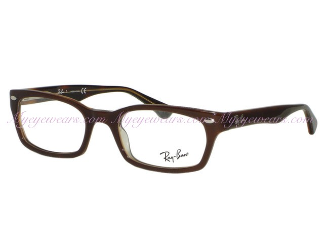 c197b29b6f Ray Ban-Ray Ban RX5150 2019 Brown Transparent Havana Eyeglasses 50mm ...