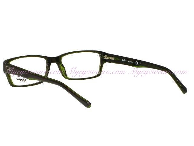 a261262526 Ray Ban-Ray Ban RX5169 2383 Top Havana on Green Transparent ...