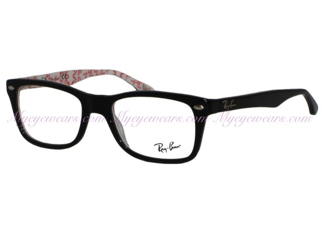 0424ab583278 Ray Ban-Ray Ban RX5228 5014 Top Black On Texture- - Online Sale shop ...