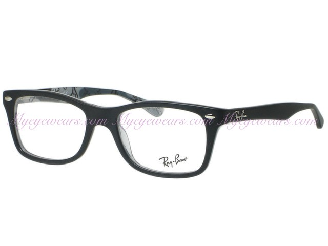 840c22104e7f Ray Ban-Ray Ban RX5228 5405 Matte Black On Texture- - Online Sale ...