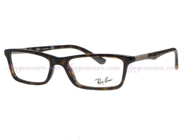11d8f46a247 Ray Ban-Ray Ban RX5284 Dark Havana 2012 Eyeglasses- - Online Sale ...