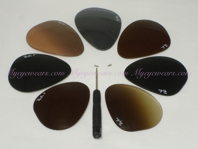51ca16967c9 Luxottica-Original Ray Ban RB3025 Aviator Replacement Lens only ...