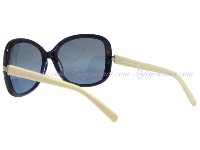 4fb4ce654c8 Tory Burch-Tory Burch TY7022 Navy Cream 937 17 T-Hinge Sunglasses ...