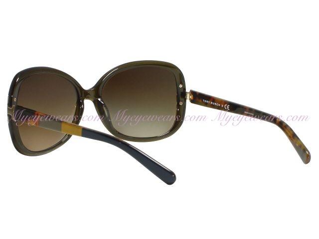 0111a1260c7 Tory Burch-Tory Burch TY7022 Olive Block 1109 13 T-Hinge Sunglasses ...